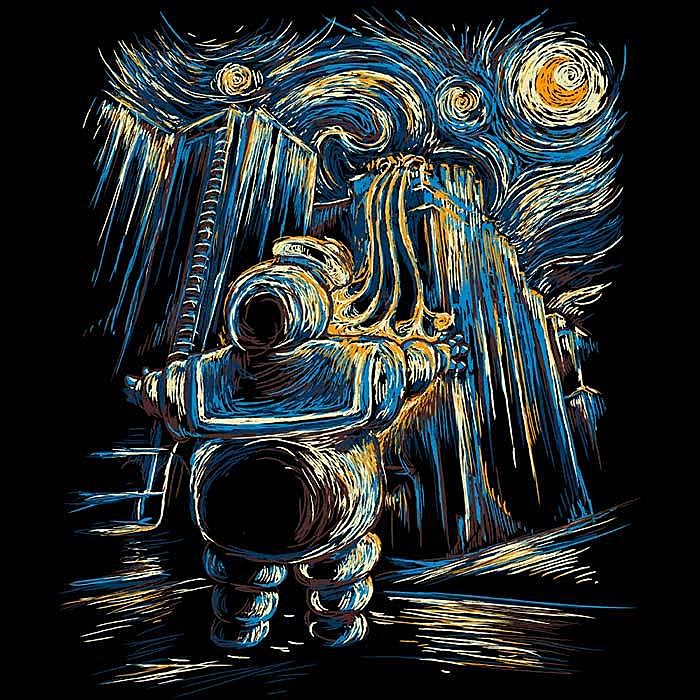 Once Upon a Tee: VanGoghstbusters