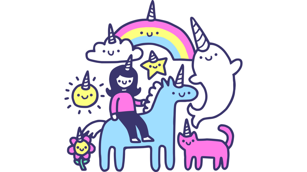 Design by Humans: Unicorns Everywhere!