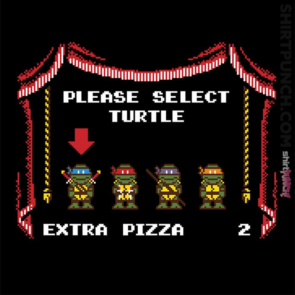 ShirtPunch: Super Ninja Bros.