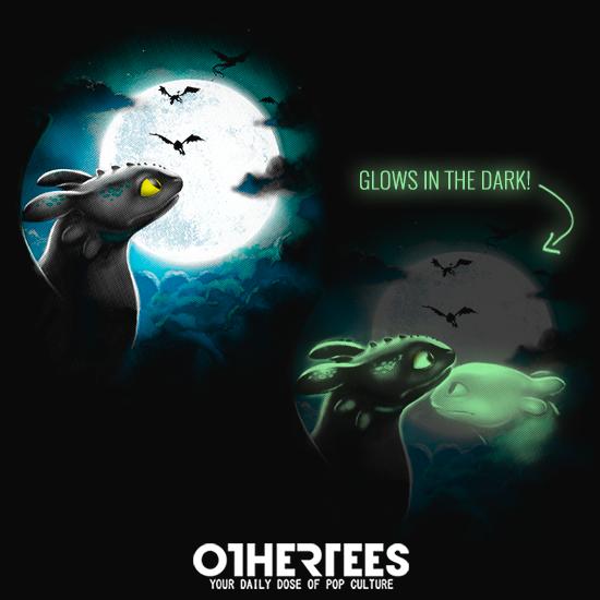 OtherTees: Dragon moon