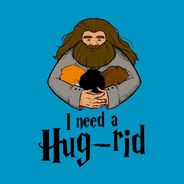 TeePublic: Hug-rid