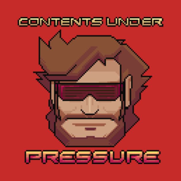 TeePublic: Contents Under Pressure Shirt