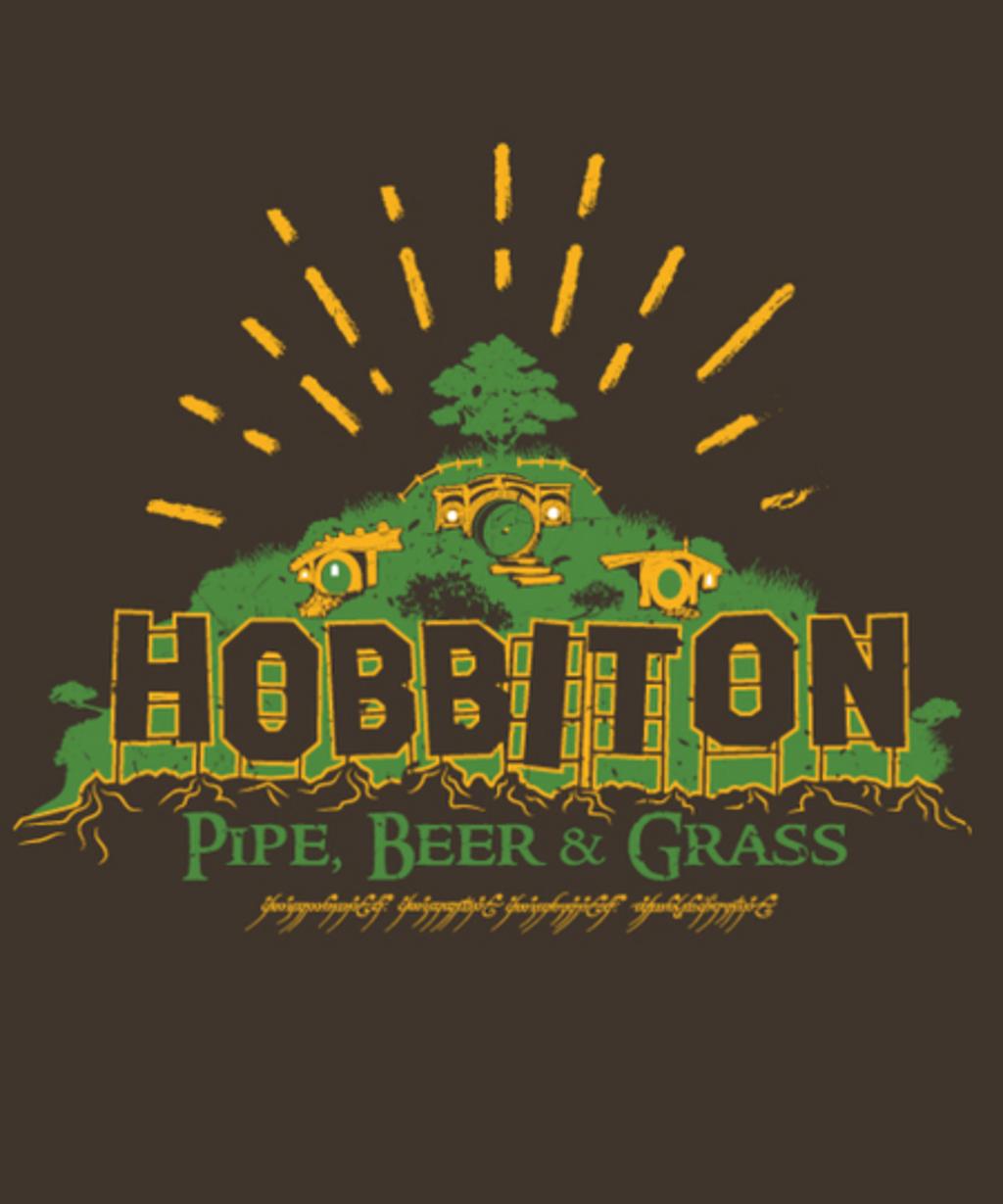 Qwertee: Hobbiton