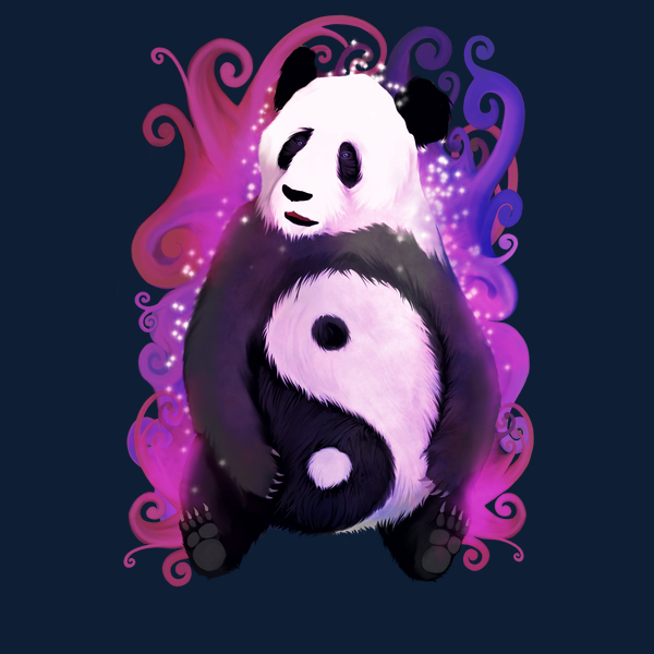 NeatoShop: Magical Yin Yang Panda