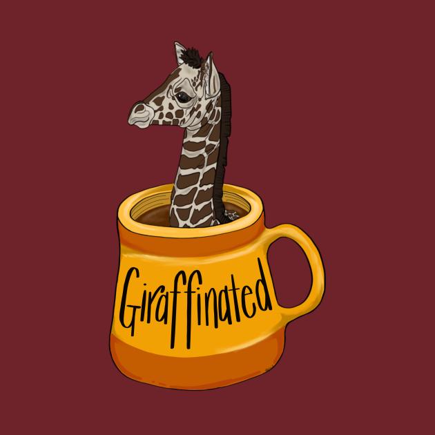 TeePublic: Girafinated