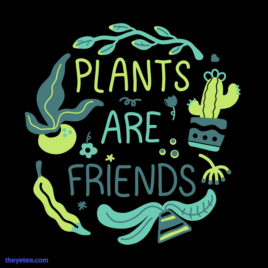 The Yetee: Plants are Friends