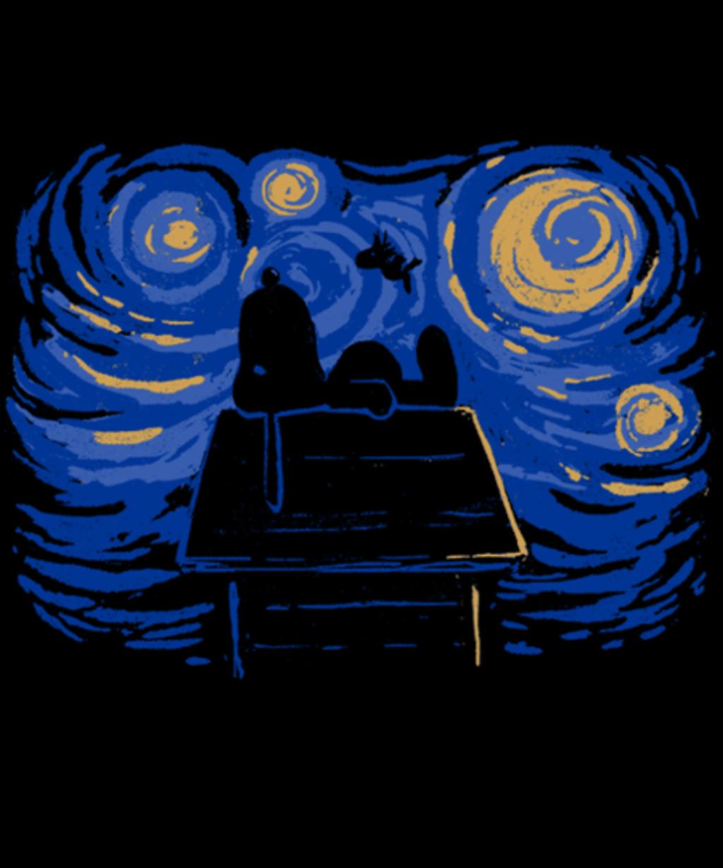 Qwertee: Starry Beagle