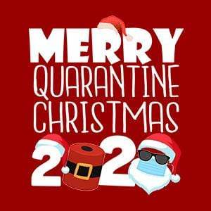 BustedTees: Merry Quarantine Christmas 2020