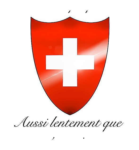 RedBubble: Switzerland, As fast as possible as slowly as necessary