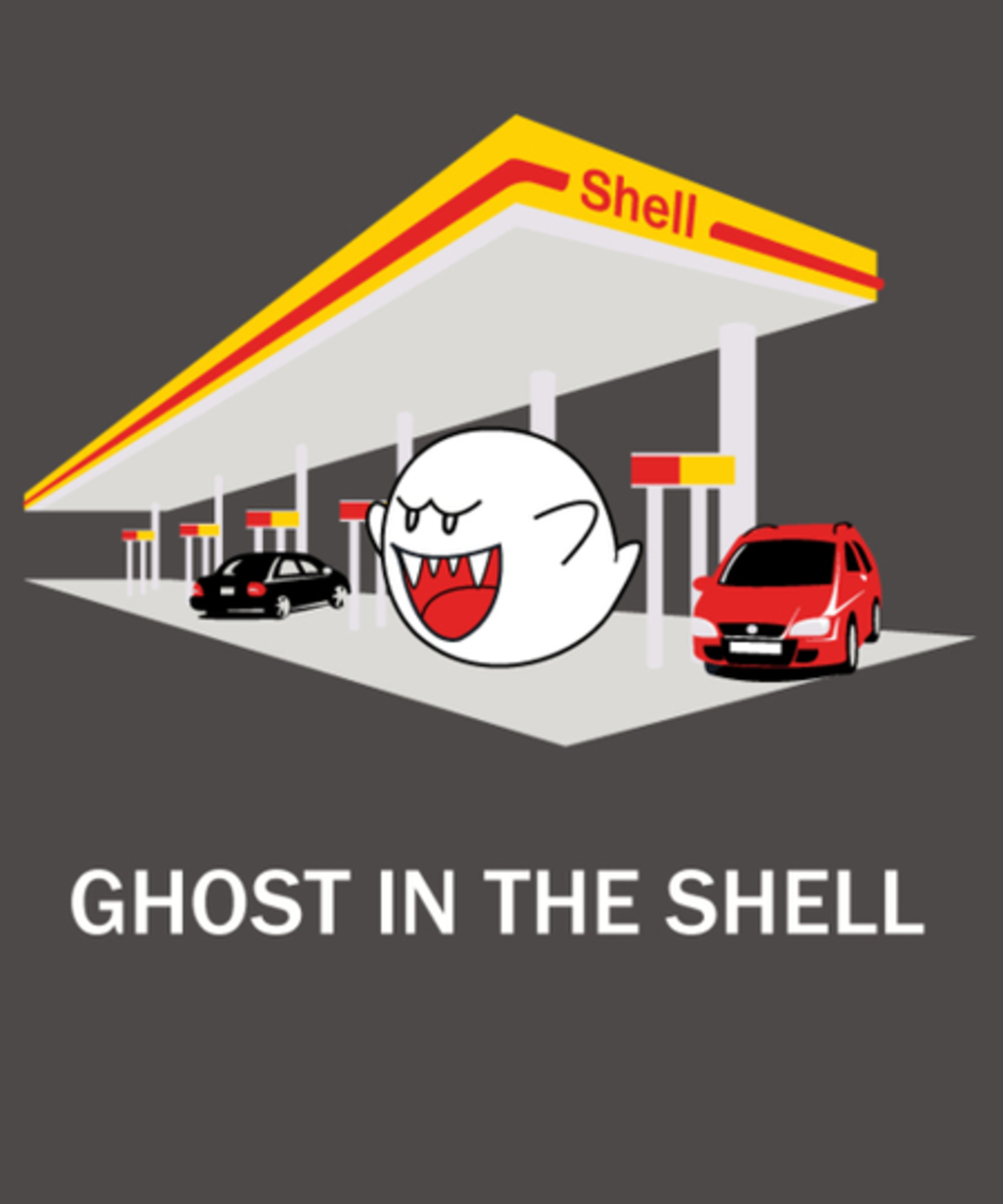 Qwertee: GhostintheShell