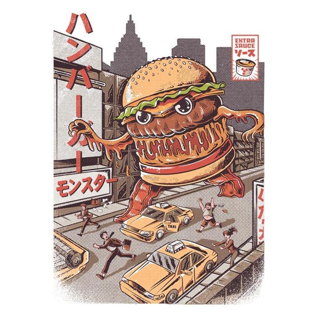 Once Upon a Tee: Burgerzilla