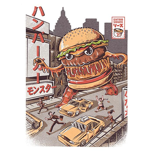 Once Upon a Tee: Burgerzilla