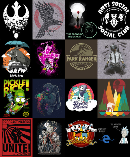 Qwertee: Black Friday Mega InsaniTEE