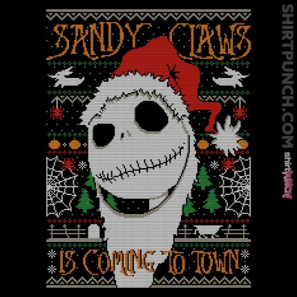 ShirtPunch: Sandy Claws