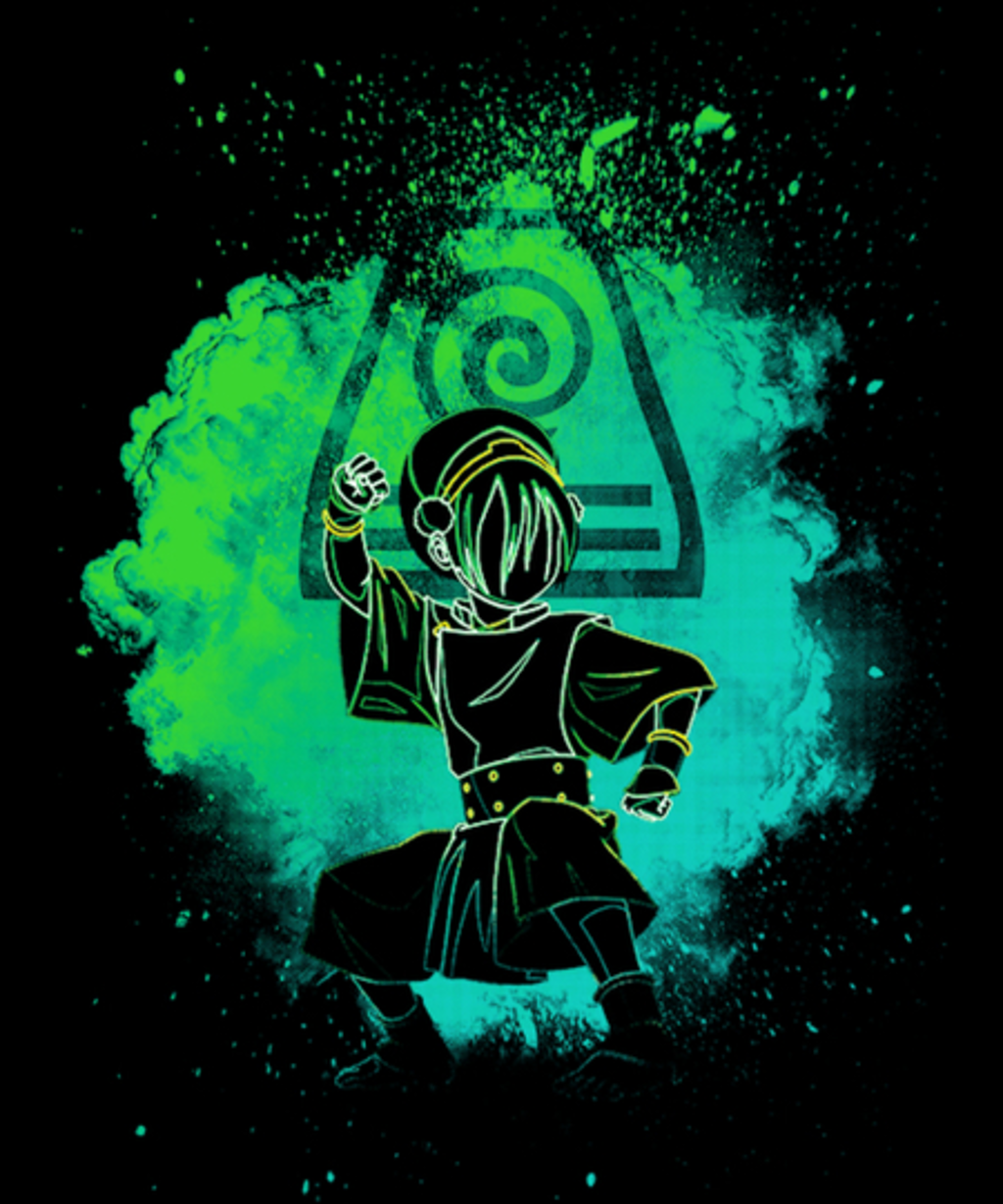 Qwertee: Soul of the earthbender