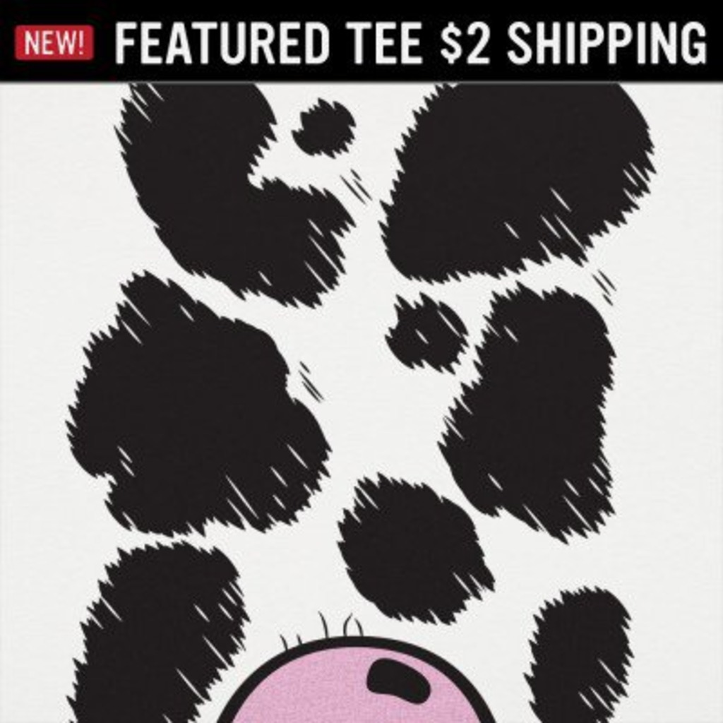6 Dollar Shirts: Cow Costume