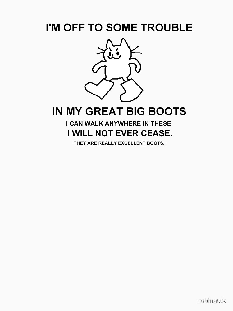 RedBubble: GREAT BIG BOOTS