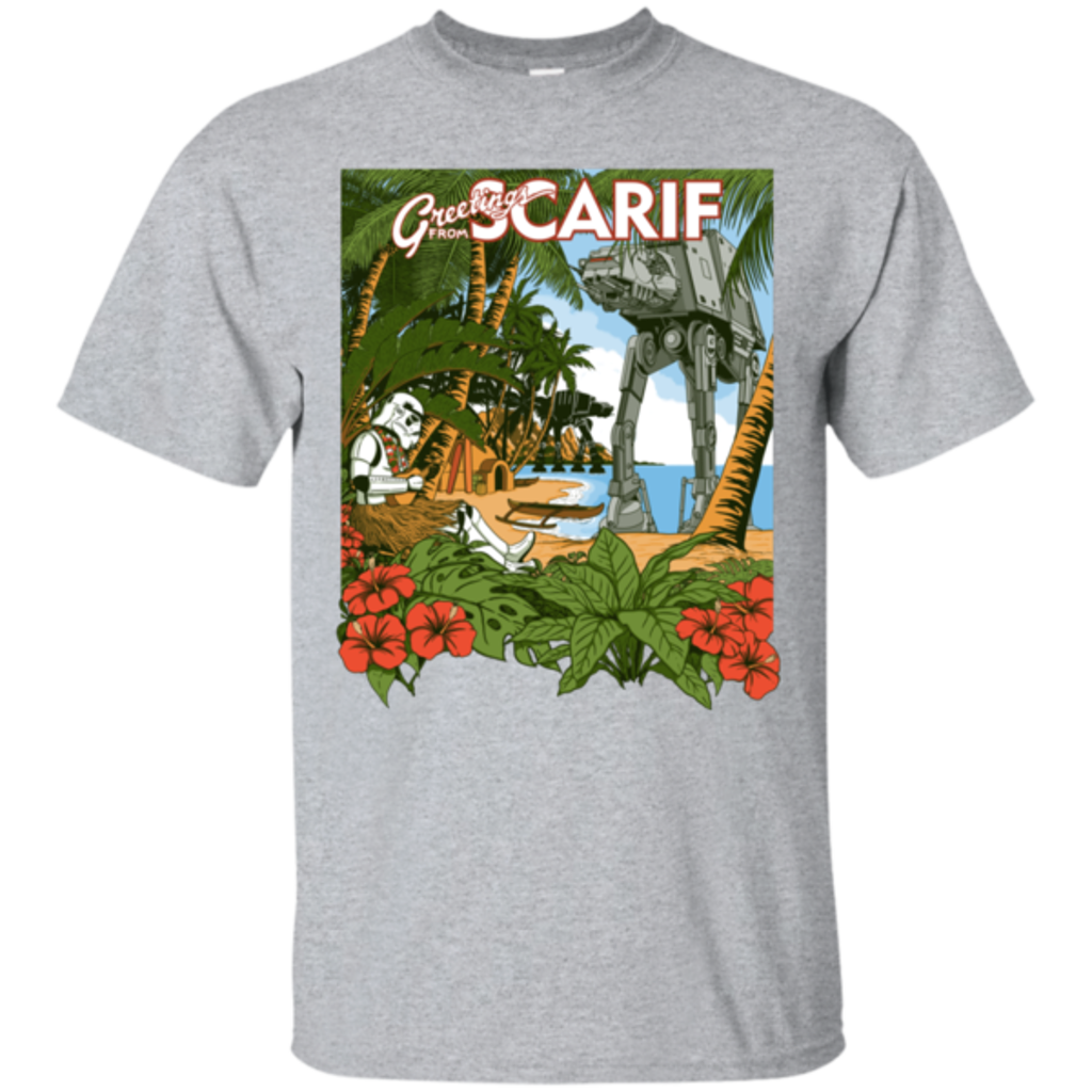 Pop-Up Tee: Greetings from Scarif