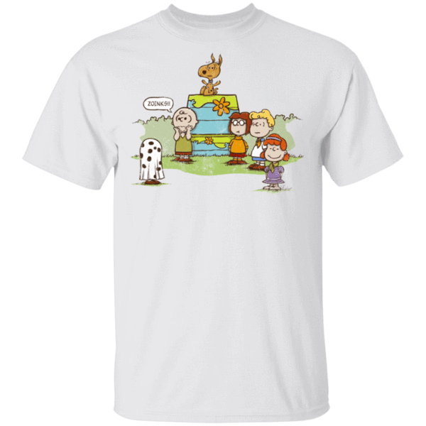 Pop-Up Tee: Snoopy Scooby