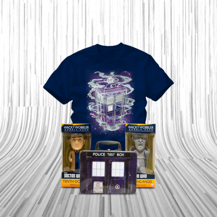 ShirtPunch: The Tenth Doctor Bundle