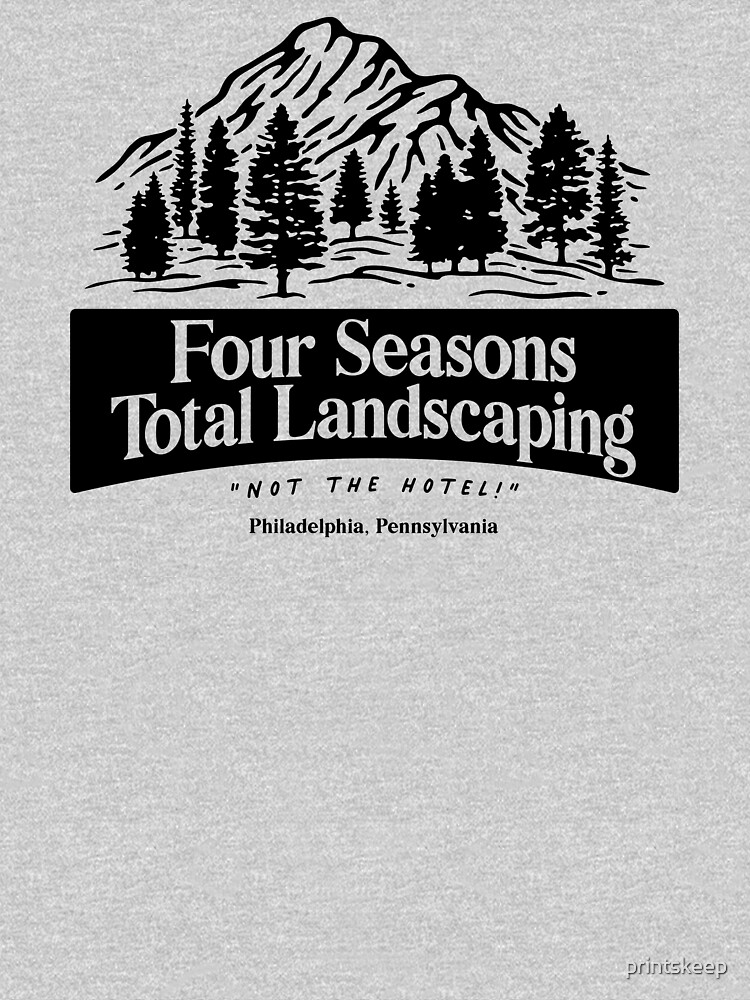 RedBubble: Four Seasons Total Landscaping - black