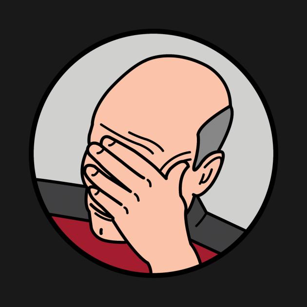 TeePublic: Epic Facepalm Picard