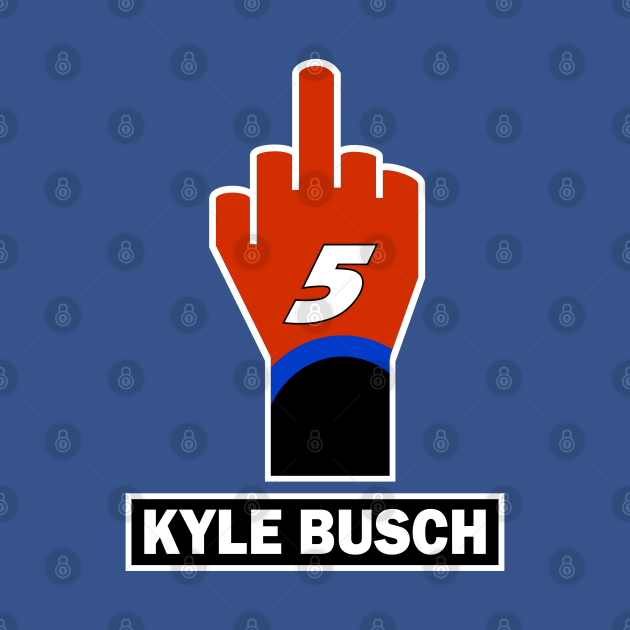 TeePublic: Kyle Larson Finger