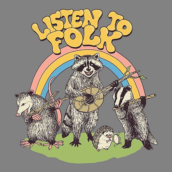 Once Upon a Tee: Listen to Folk