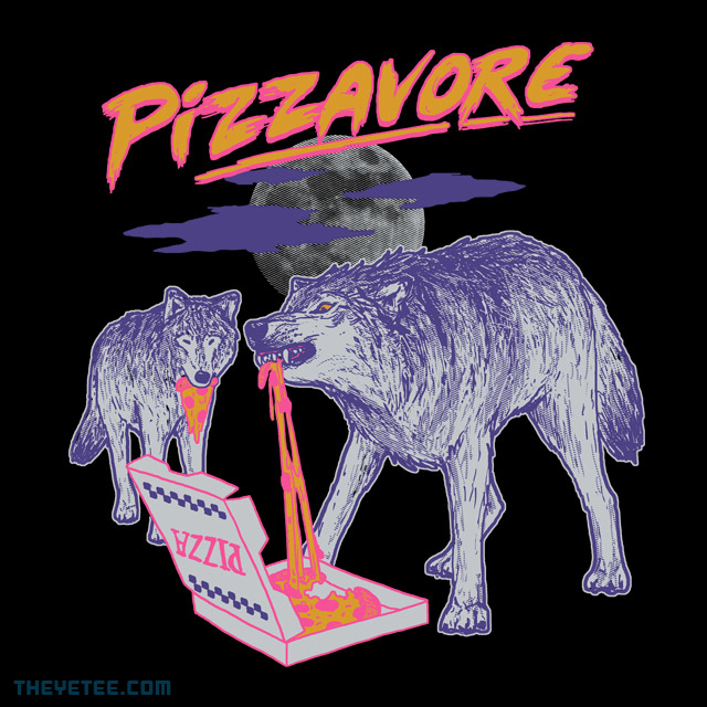The Yetee: Pizzavore