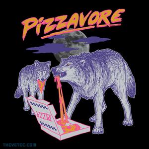 The Yetee: Pizzavore