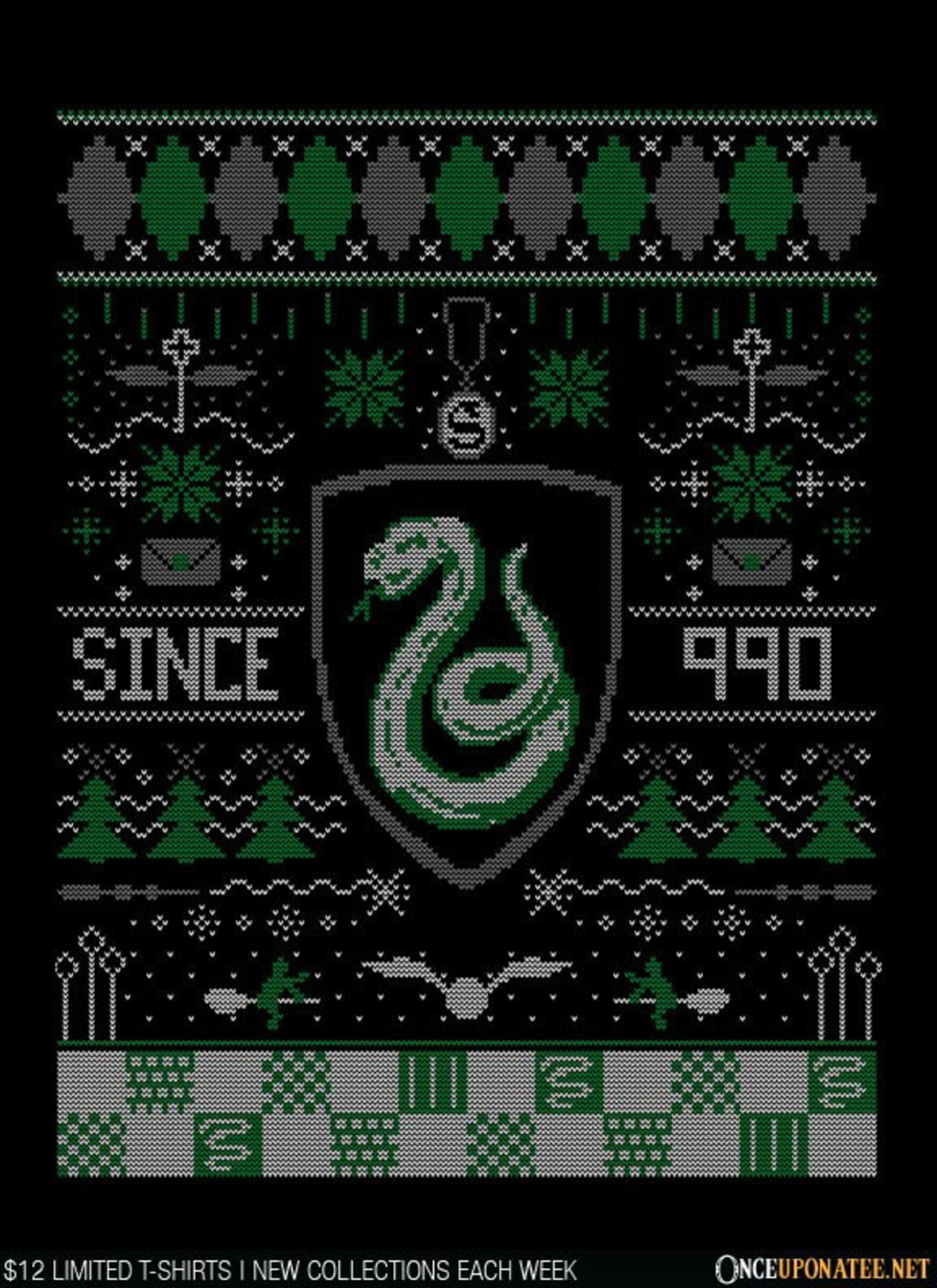Once Upon a Tee: Ugly Serpent Sweater