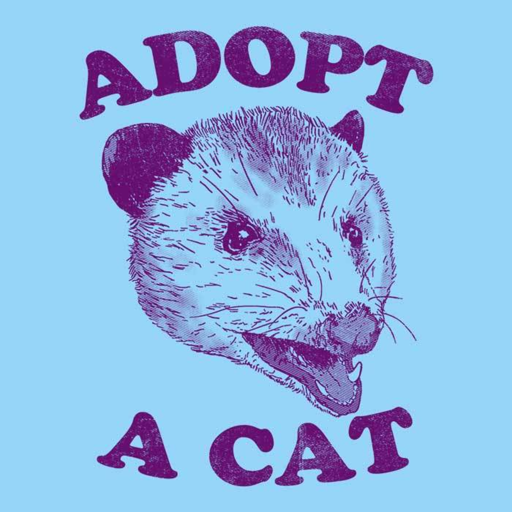 Once Upon a Tee: Adopt a Cat