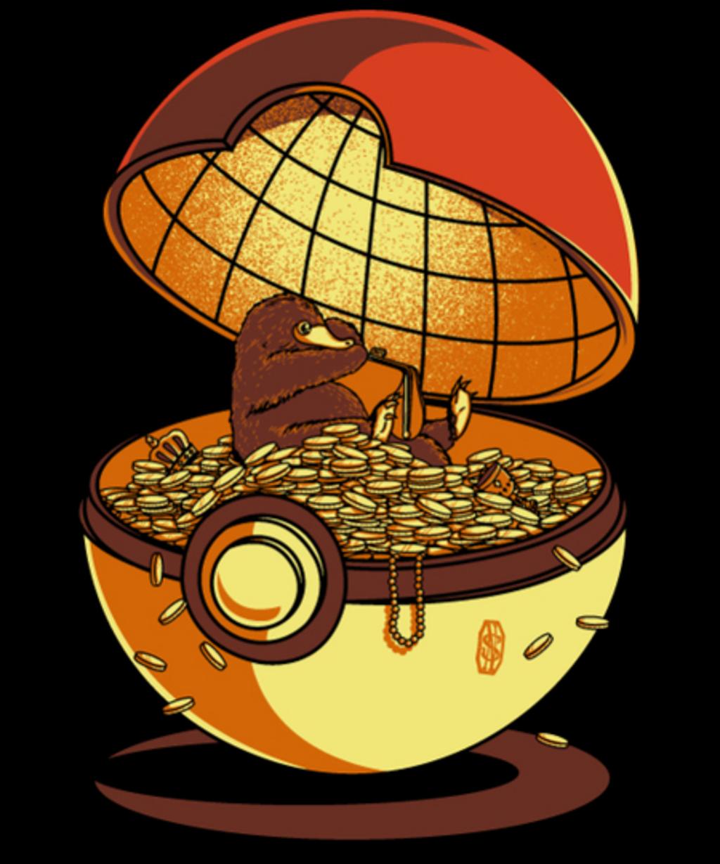Qwertee: Golden Ball