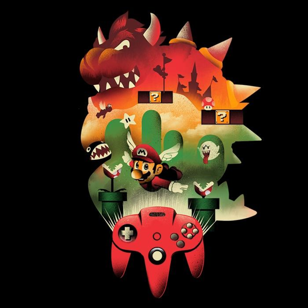 Once Upon a Tee: It's-a Me, 64