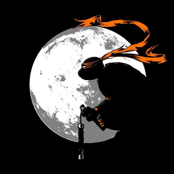 Once Upon a Tee: Moon Nunchaku