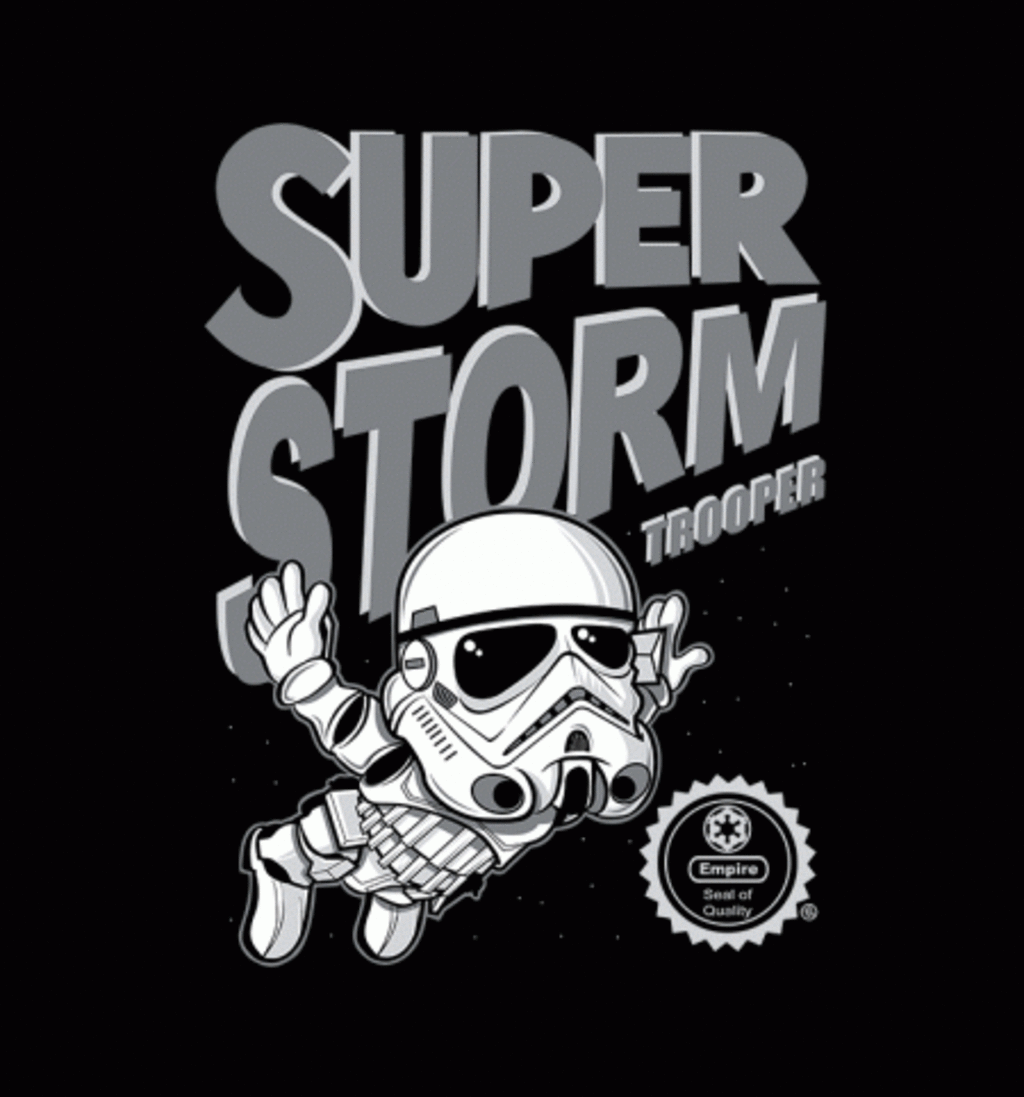 BustedTees: Super Stormtrooper