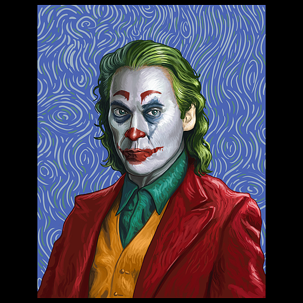 NeatoShop: Joker Van Gogh