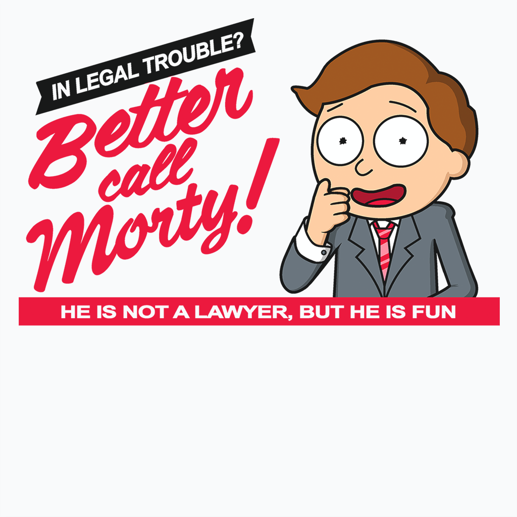 Pop-Up Tee: Better Call Morty