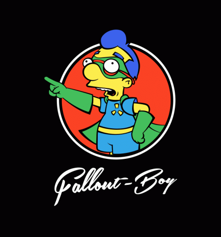 BustedTees: Fallout Boy