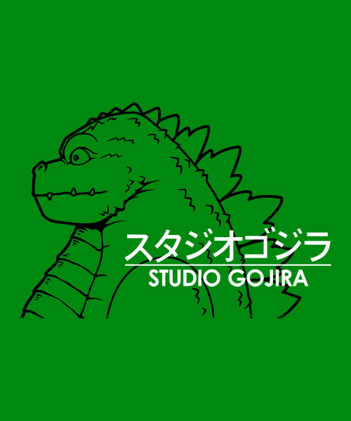 EnTeeTee: Studio Gojira