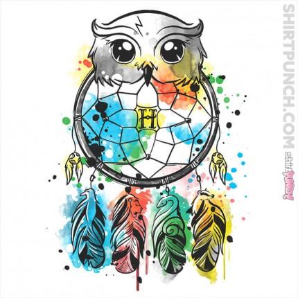 ShirtPunch: Owl Dreamcatcher