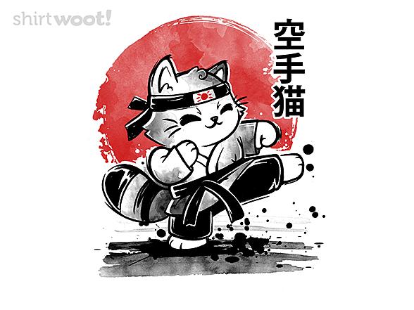 Woot!: Karate Cat