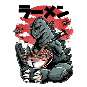 Once Upon a Tee: Kaiju Ramen