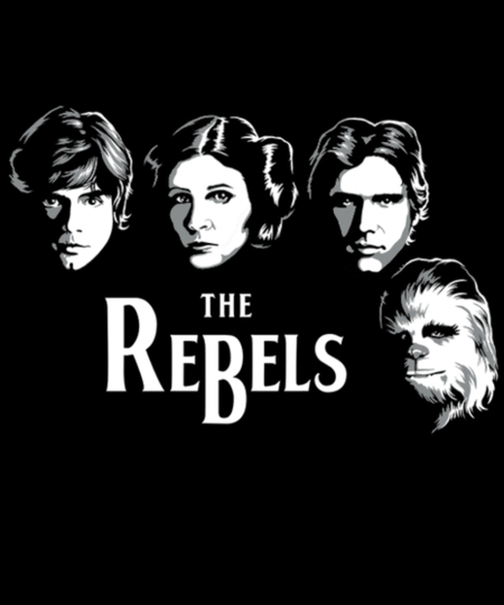 Qwertee: The Rebels