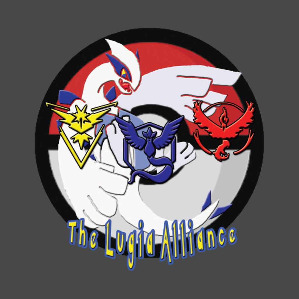 TeePublic: The Lugia Alliance T-Shirt
