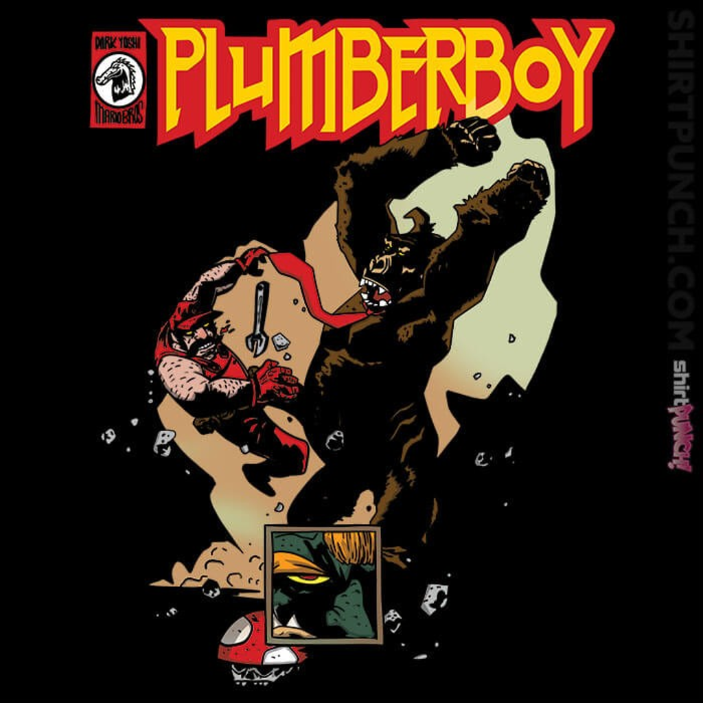 ShirtPunch: Plumberboy