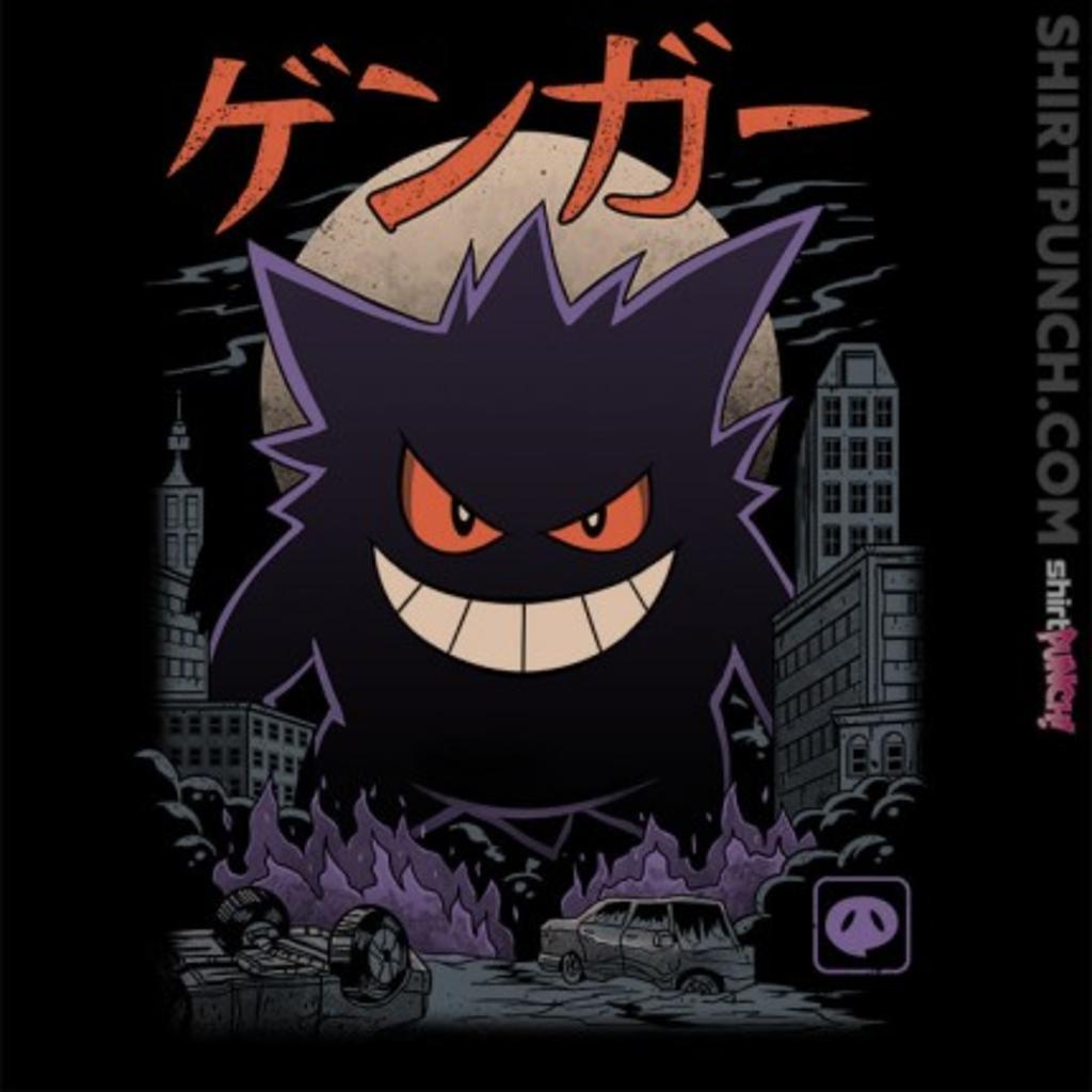 ShirtPunch: Ghost Kaiju