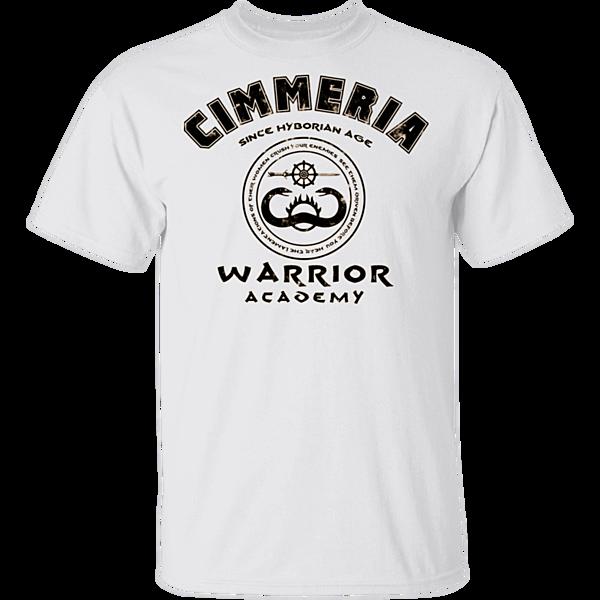 Pop-Up Tee: Cimmeria Warrior Academy