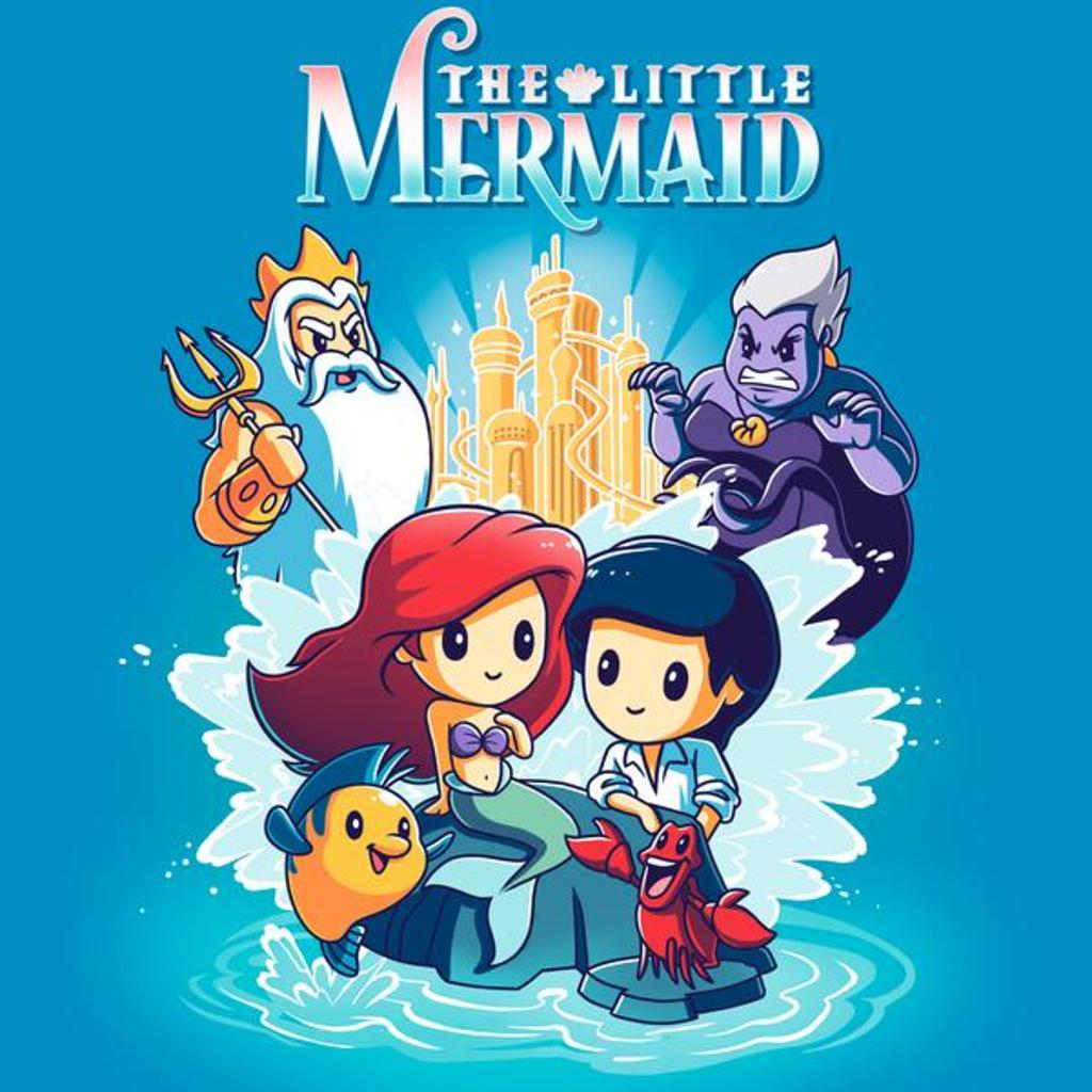 TeeTurtle: Disney The Little Mermaid