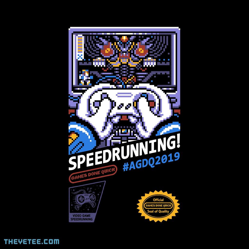 The Yetee: Speedrunning 2019!